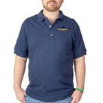 Dolly Varden Trout Dark Polo Shirt