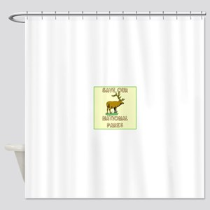 Save our National Parks Shower Curtain