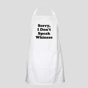 Sorry I Don't Speak Whinese S Apron