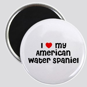 I * my American Water Spaniel Magnet