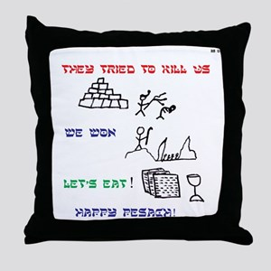 Passover Pesach Story Throw Pillow