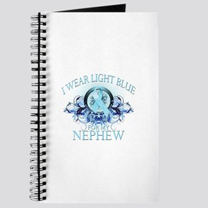 I Wear Light Blue for my Nephew (floral) Journal