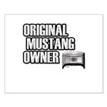 Mustang Owner Small Poster