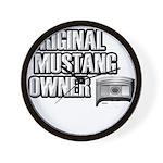 Mustang Owner Wall Clock
