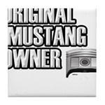 Mustang Owner Tile Coaster
