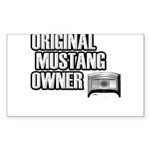 Mustang Owner Sticker (Rectangle)