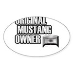 Mustang Owner Sticker (Oval 10 pk)