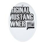 Mustang Owner Ornament (Oval)