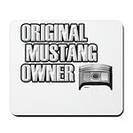 Mustang Owner Mousepad