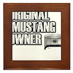 Mustang Owner Framed Tile