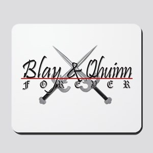 Blay and Qhuinn Forever Mousepad