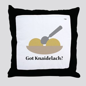 Got Knaidelach? Throw Pillow