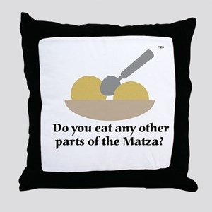 Matza Balls anyone? Throw Pillow