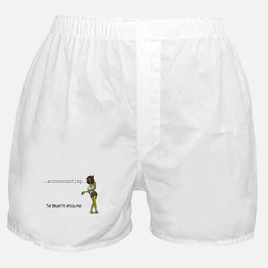The Brunette Apocalypse Boxer Shorts