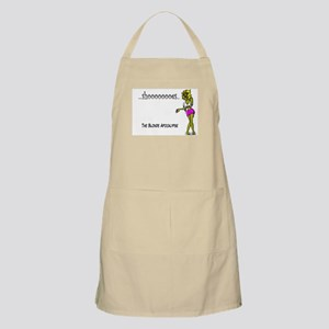 The Blonde Apocalypse Apron