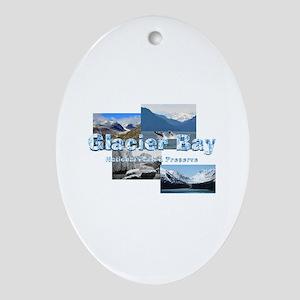ABH Glacier Bay Oval Ornament