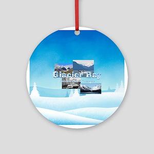 ABH Glacier Bay Round Ornament