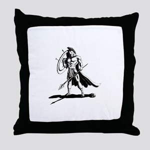 Spartan Throw Pillow