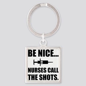 Nurses Call The Shots Keychains