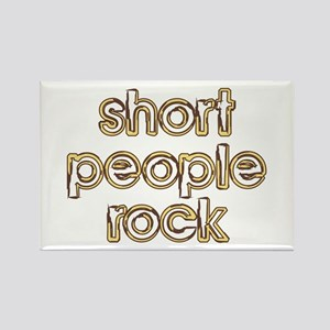 Short People Rock Rectangle Magnet