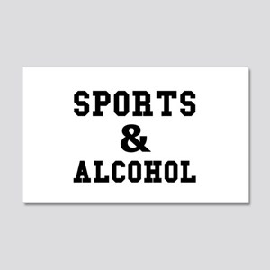 Sports And Alcohol Wall Decal