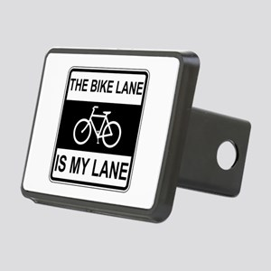 The Bike Lane Sign Hitch Cover