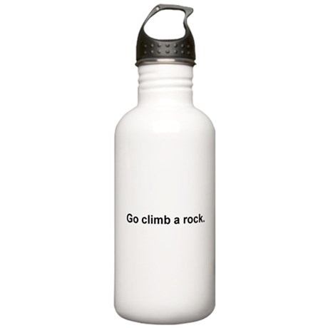 Go Climb A Rock Stainless Water Bottle 1.0L