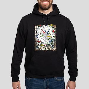 Vintage Eastern Star Signet Hoodie (dark)