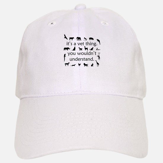 It's A Vet Thing Baseball Baseball Cap