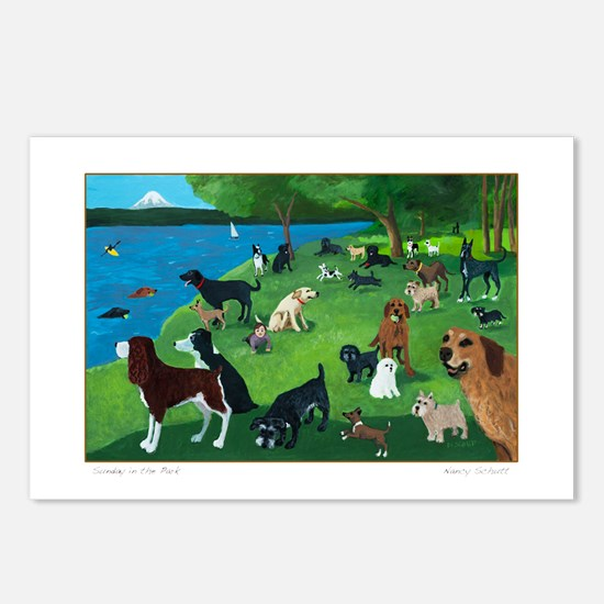 Cute Dog Postcards (Package of 8)