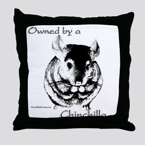 Chin 2 Throw Pillow