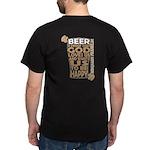 On Back Beer Dark T-Shirt