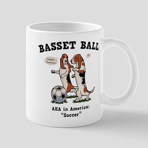 Basset Ball Mug