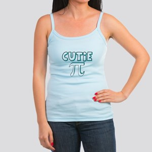 Cutie Pi Blue Jr. Spaghetti Tank
