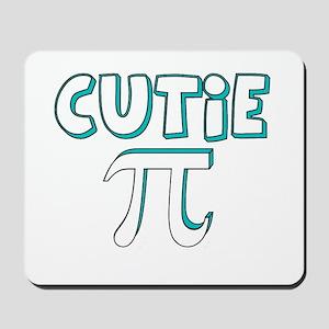 Cutie Pi Blue Mousepad