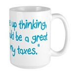 Tax Day Large Mug