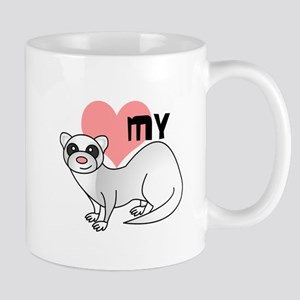 Love My Silver Ferret Mug