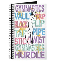 Gymnastics Themed Journal