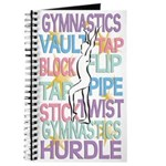 Gymnastics Themed Journal