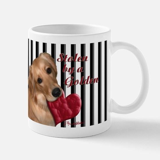 Golden Stolen Heart Mug