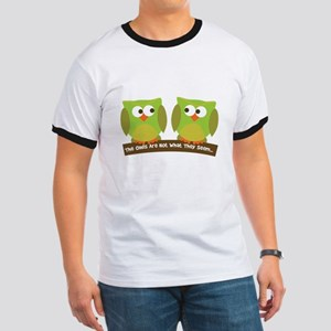 The owls are not what they seem Ringer T