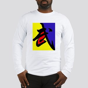 Kung Fu Color Long Sleeve T-Shirt