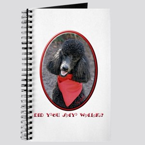 Poodle Walk Journal