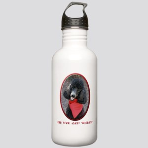 Poodle Walk Stainless Water Bottle 1.0L