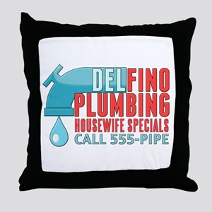 Delfino Plumbing Throw Pillow