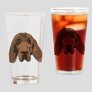 blood hound Drinking Glass