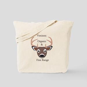 Venison: Organic & Free Range Tote Bag