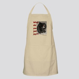 What Did You Just Say?? Apron