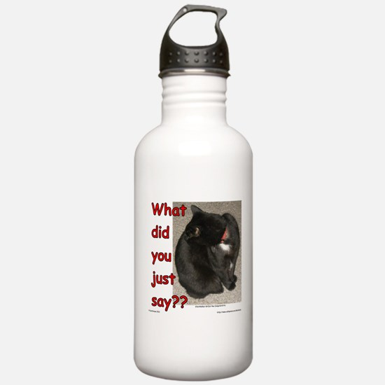What Did You Just Say?? Water Bottle