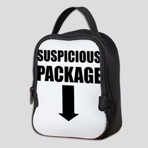 Suspicious Package Neoprene Lunch Bag